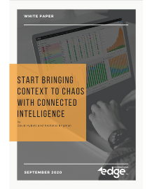 eBook - Start Bringing Context to Chaos with Connected Intelligence